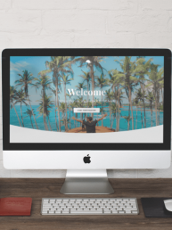 Agora Web Designs Travel Agency Website Concept